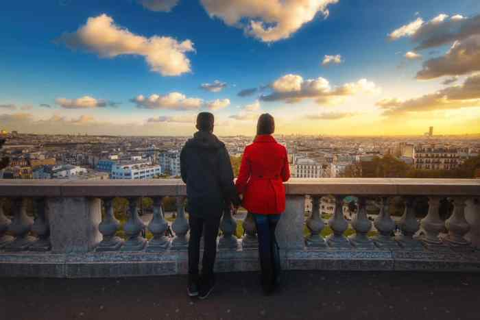 couples photography in Paris