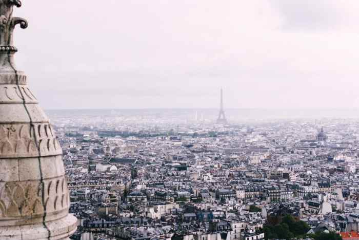 view from Paris basilica | paris things to do