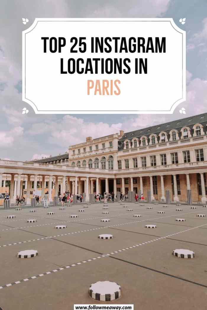 Top 20 best Instagram spots in Paris | Top Paris photography locations | best Instagram worthy locations in Paris | Things to do in Paris | Paris photo locations | Paris travel tips