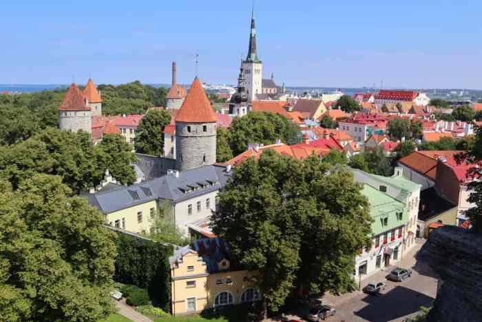 tallin Estonia romantic cities in europe