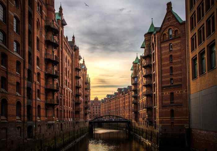 hamburg germany romantic city in europe