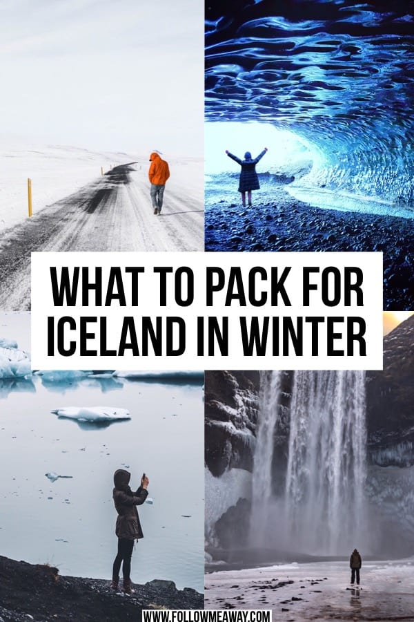 What To Pack For Iceland In Winter | What To Wear In Iceland In Winter | Iceland packing list | Iceland travel tips | Traveling to Iceland in winter | Winter in Iceland itinerary | what to wear in Iceland