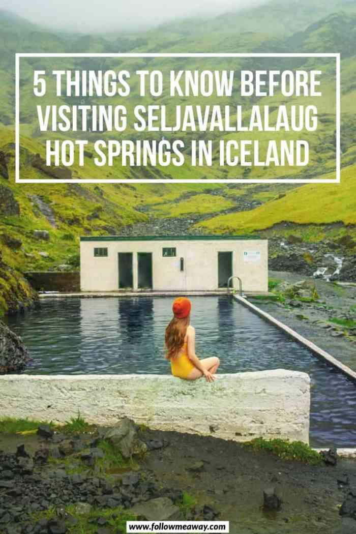 5 Things To Know Before Visiting Seljavallalaug Pool In Iceland | Best hot springs in Iceland | where to swim in Iceland | Free iceland hot springs | Iceland travel tips | things to do in Iceland