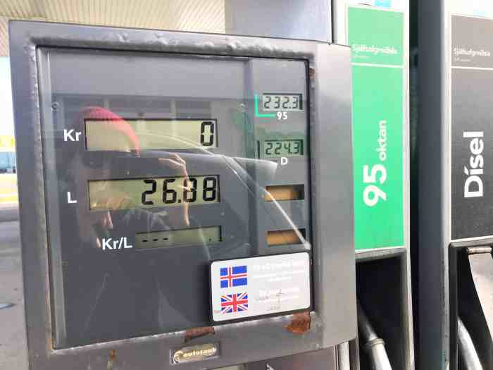 Diesel Gas Near Me >> 5 Things To Know About Gas Stations In Iceland Follow Me Away