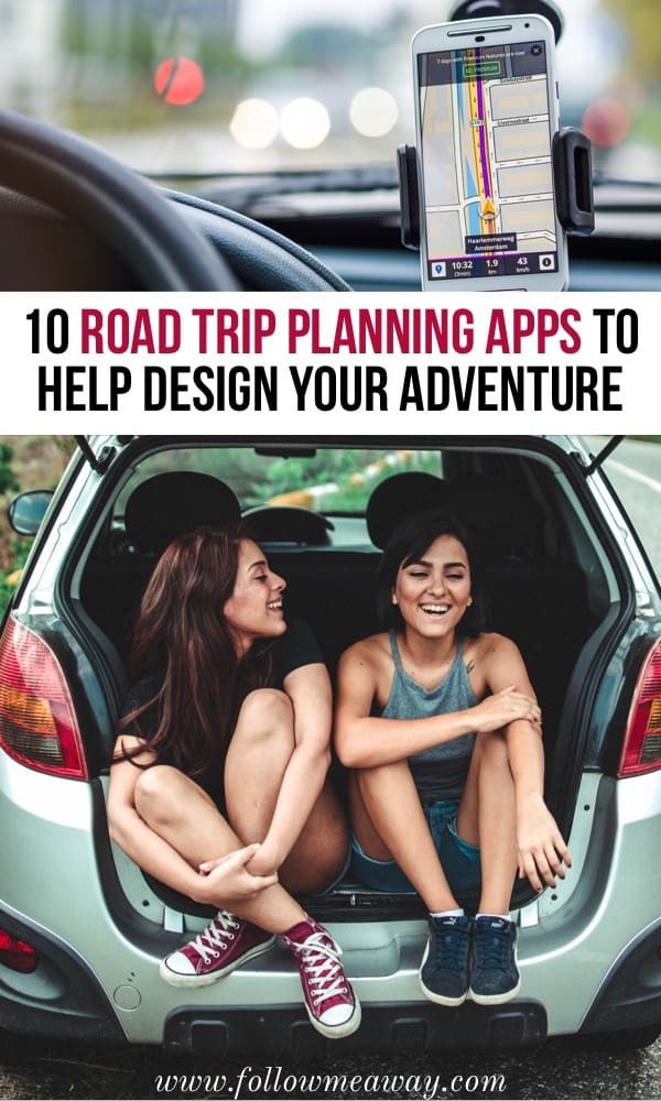 10 Best Road Trip Planner Apps To Help Design Your Adventure | How to plan a road trip | road trip planner apps for your vacation | best travel apps | useful travel planning apps and tools | how to plan your trip using road trip apps