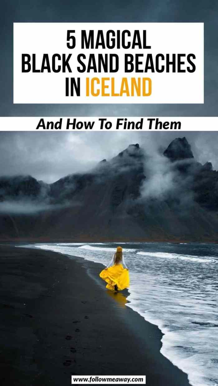 5 Magical Black Sand Beaches In Iceland How To Find Them | top things to do in iceland | iceland travel tips | black beaches in iceland | stokksness | basalt rocks iceland | best beaches to visit in iceland