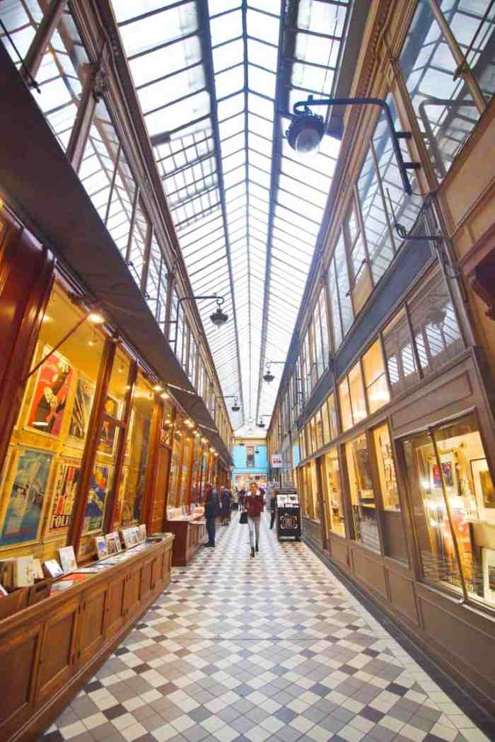 Passage Jouffroy is one of the best Paris covered passages | secret paris things to do