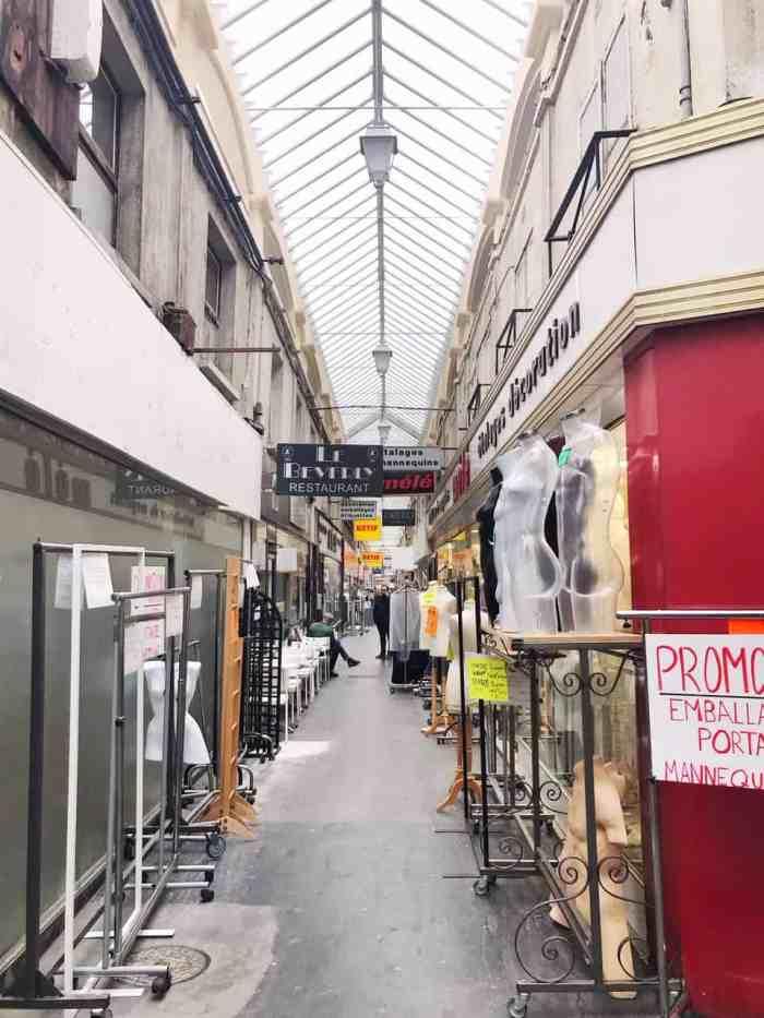 Passage du Caire is Paris' fashion covered passage | shopping in Paris