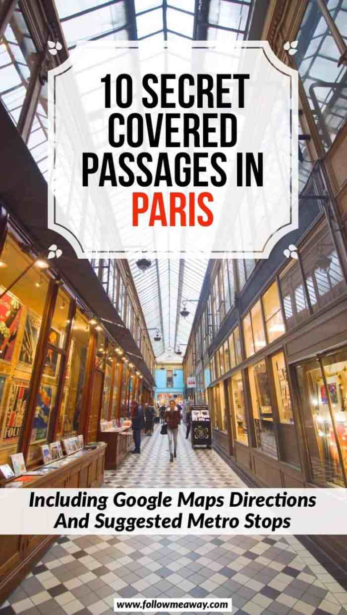 10 Best Covered Passages In Paris + Map To Find Them | Hidden gems in Paris | Covered passages in Paris | Best paris covered passages | best things to do in Paris | what to do in Paris | top things to do in paris that are unique
