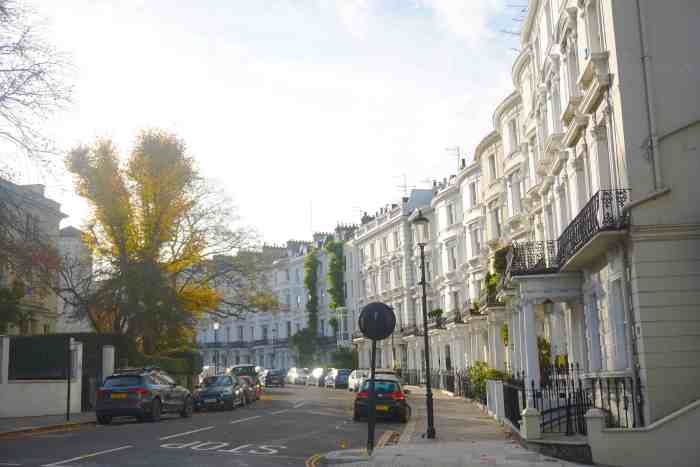 Ladbroke Gardens is the best London street to visit