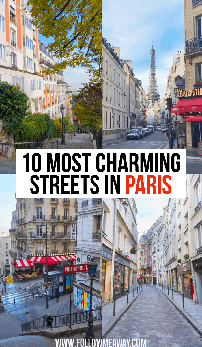10 most charming streets in Paris | cute streets in Paris | best paris streets | Paris travel tips | best things to do in Paris | what to see in Paris france #paris #france #streets