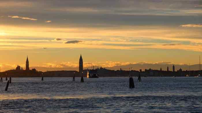 Lido is a small italian island off of Venice Italy