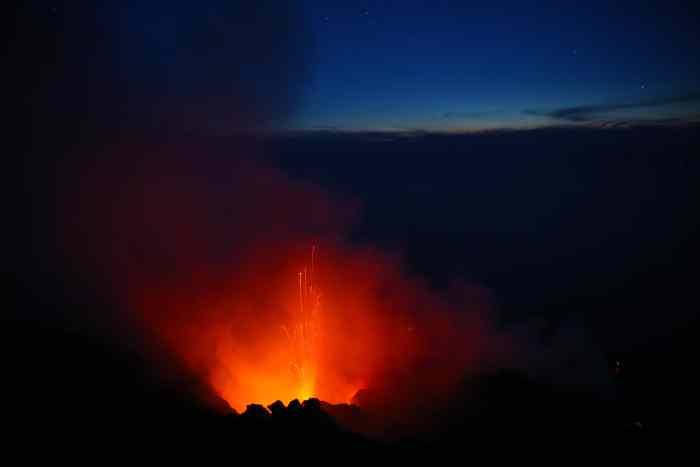 Stromboli Volcanic Italian Island