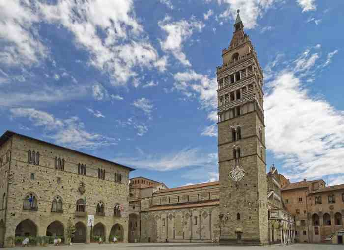 Pistoia is one of the least visited cities in Tuscany Italy