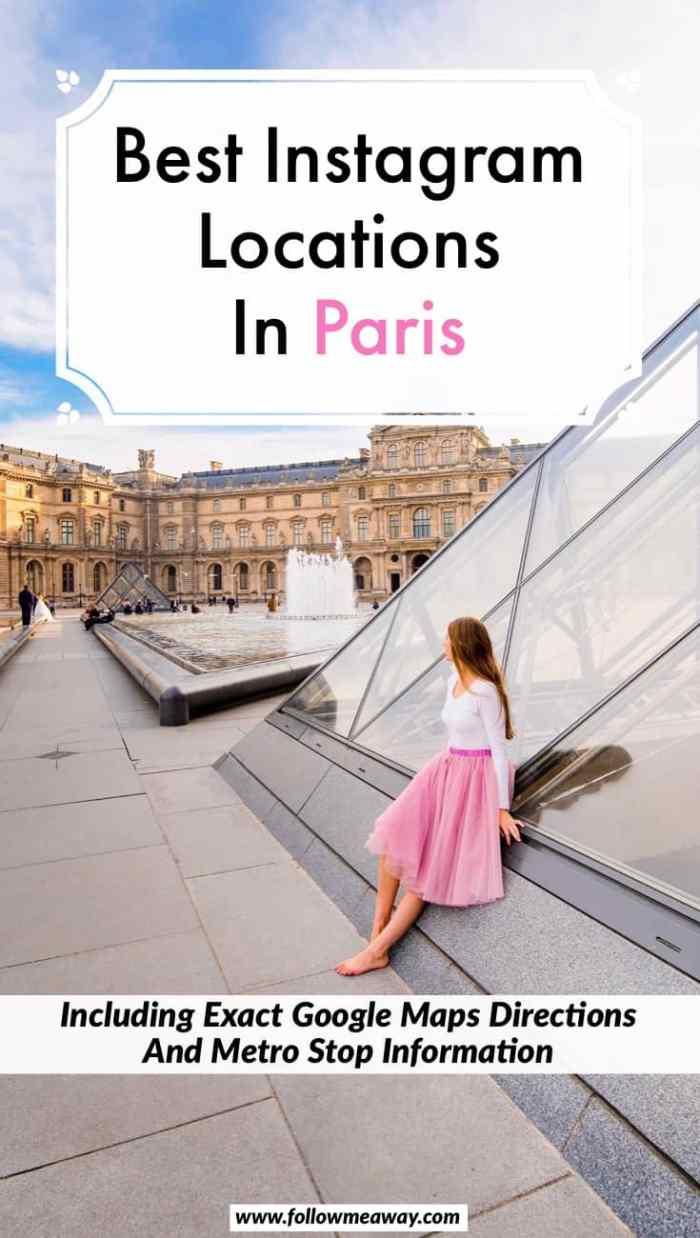 Best Paris Photography Locations