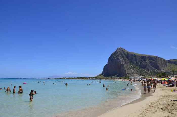 beaches in Sicily San Vito Lo Capo Beach