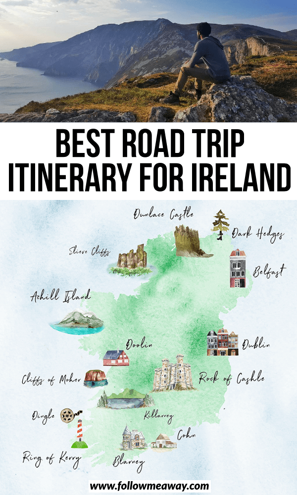 road trip itinerary for ireland