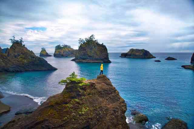 Secret beach is a lesser known west coast usa destination