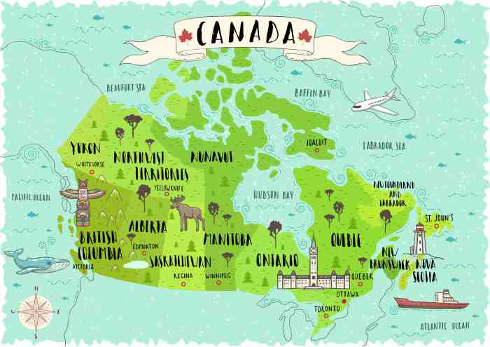 Map Of Western Canada Provinces.15 Things To Know Before Taking The Train Across Canada Follow Me Away