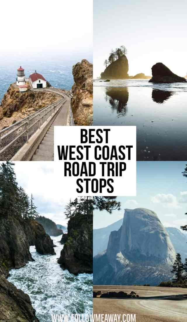 Best West Coast Road Trip Stops | pacific coast highway | things to do on the west coast usa | best things to see in california | planning a west coast road trip