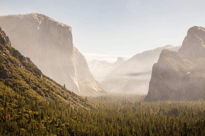 yosemite is an amazing west coast usa destination