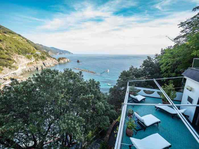 Villa Tanca view from where to stay in Cinque Terre