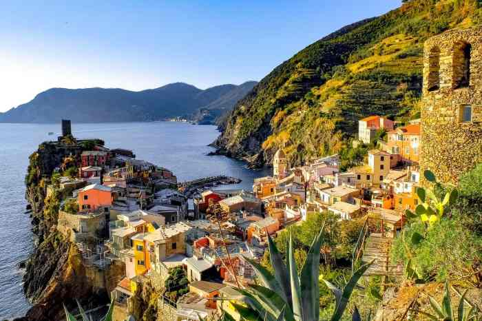 Where to stay and what to see in Vernazza Cinque Terre Italy