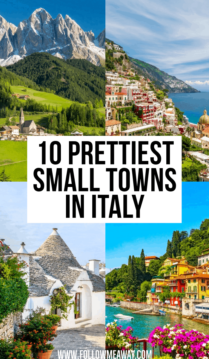 10 prettiest small towns in italy