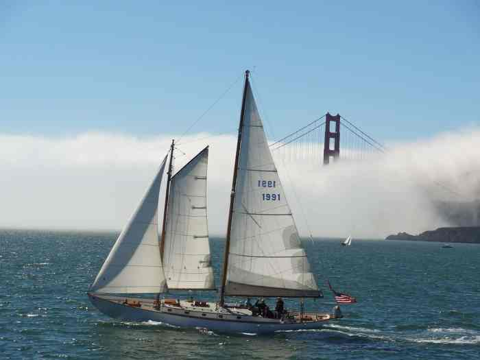 San Francisco Bay Sailing Tour with Drinks is a great San Francisco wine tour option