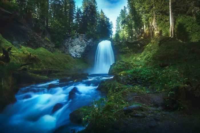Sahalie And Koosah Falls Are Beautiful And Easily Accessible Oregon Waterfalls