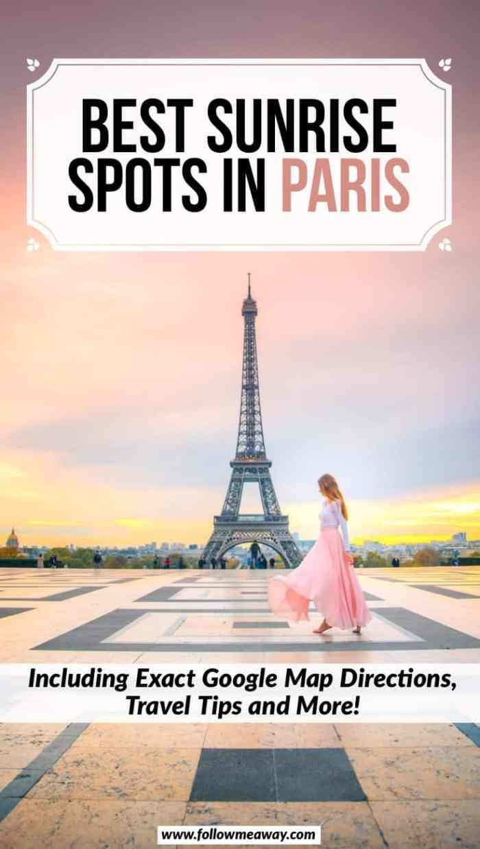 Best Sunrise Spots In Paris You Must See   Best Paris Instagram locations for sunrise   where to take photos during sunrise in Paris for Instagram   best things to do in Paris   Paris travel tips   Best Paris Instagram and photo spots for sunrise