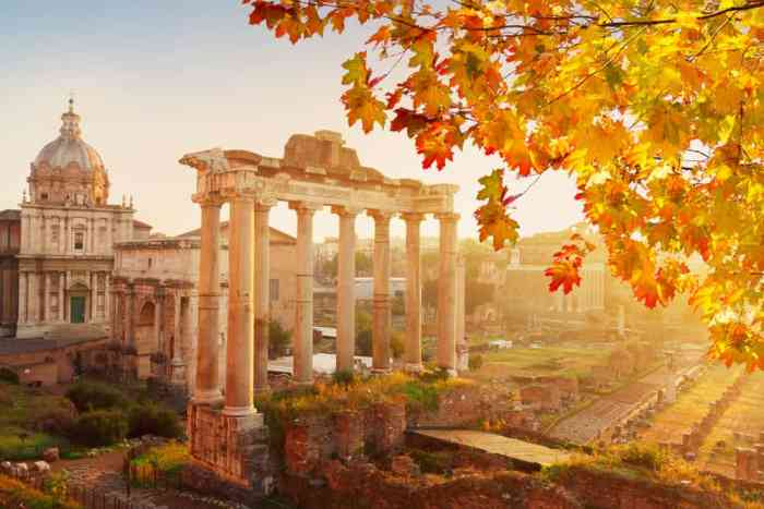 Planning a trip to Italy in the fall is a wonderful experience