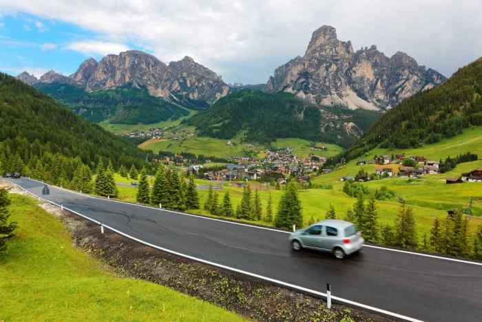 Don't be afraid to rent a car in Italy when planning your Italy itinerary