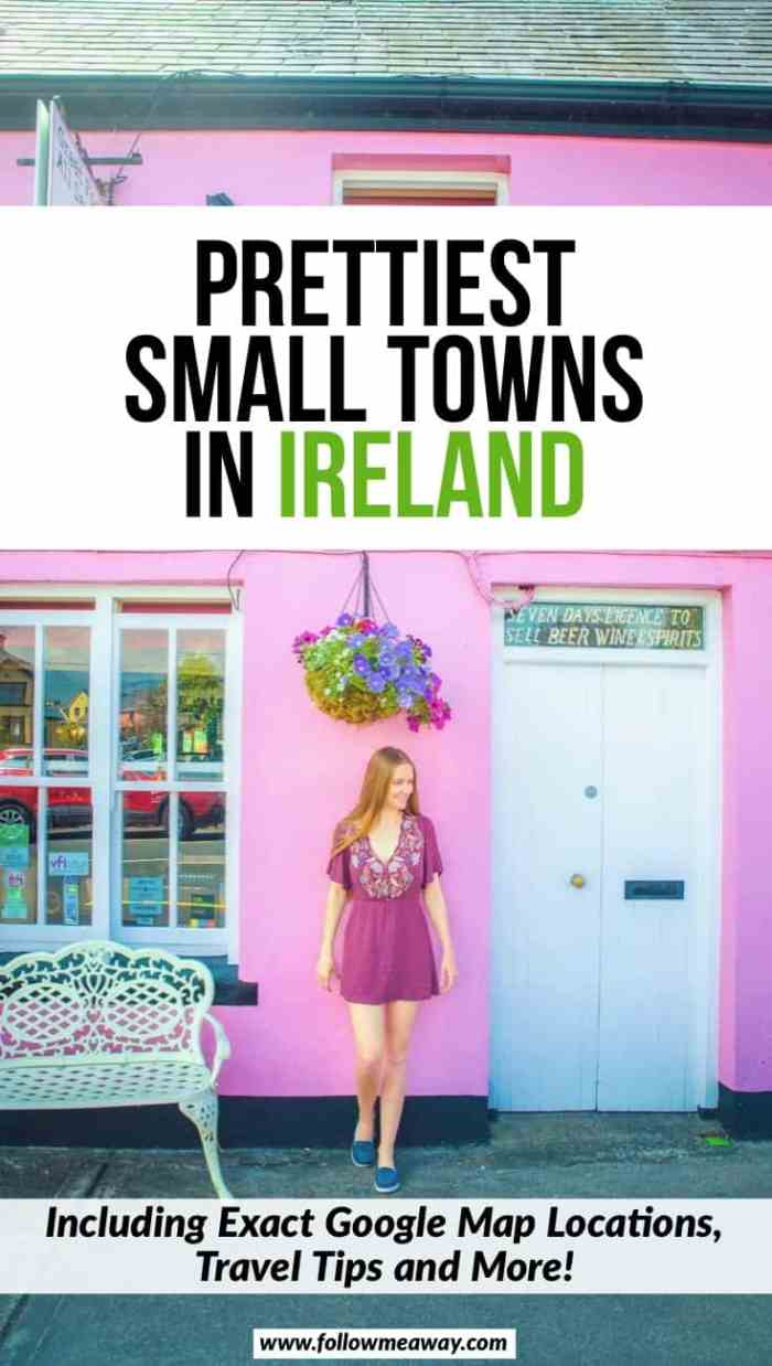 10 Prettiest Small Towns In Ireland You Must See | Best cute cities in Ireland | prettiest villages in Ireland | Ireland towns you must see | Ireland travel tips | best things to do in Ireland on your first trip | what towns in Ireland to visit