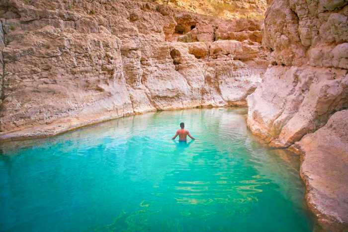 Best time to go to Wadi Shab Oman