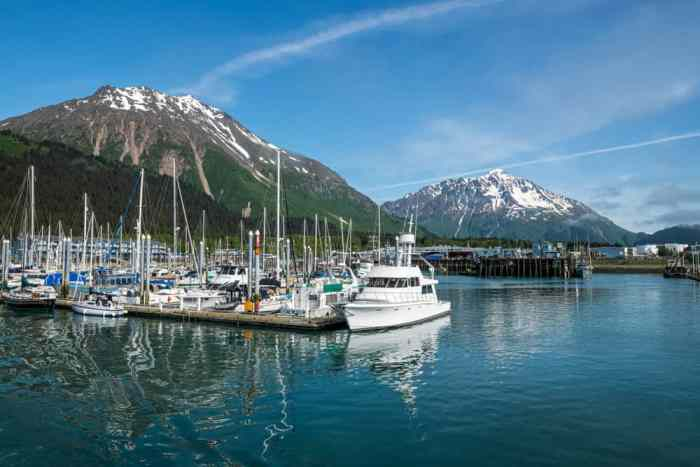 cute town of Seward is a must-see on your Alaska road trip