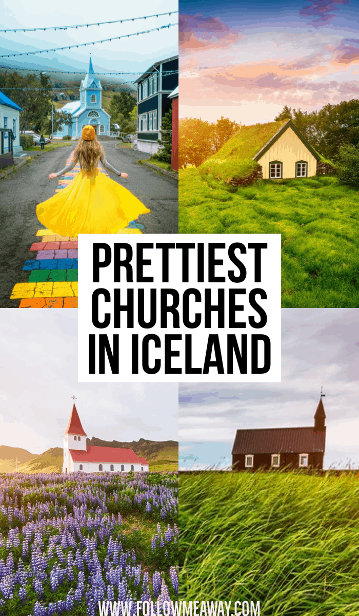 The Prettiest Churches In Iceland   Iceland churches you must see   Black church in Iceland   best churches in Iceland   pretty places in Iceland   best things to see in Iceland   Iceland itinerary tips   what to do in Iceland