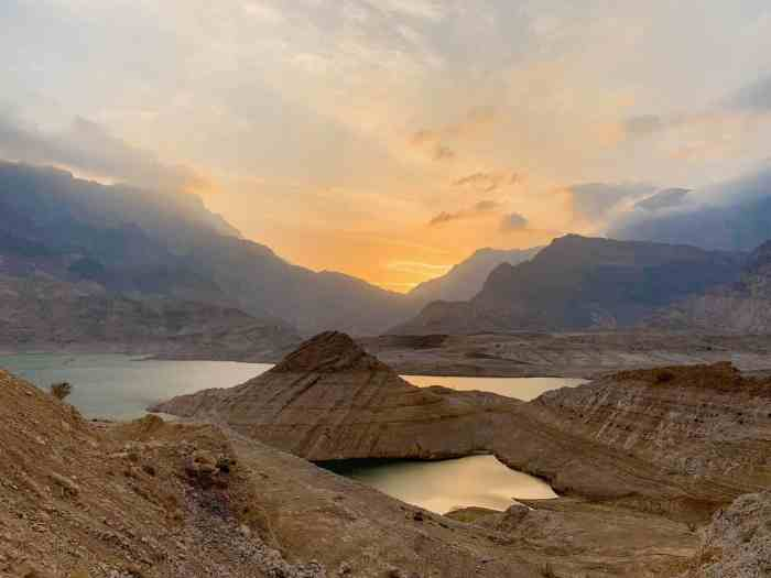 Watch The Sunset Over Wadi Dayqah Dam for one of the best places to visit in Oman