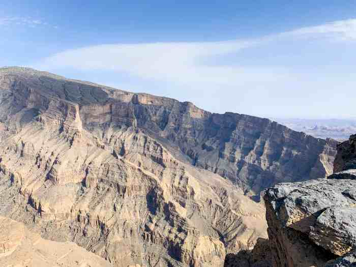 Explore The Grand Canyon Of The Middle East At Jebel Shams