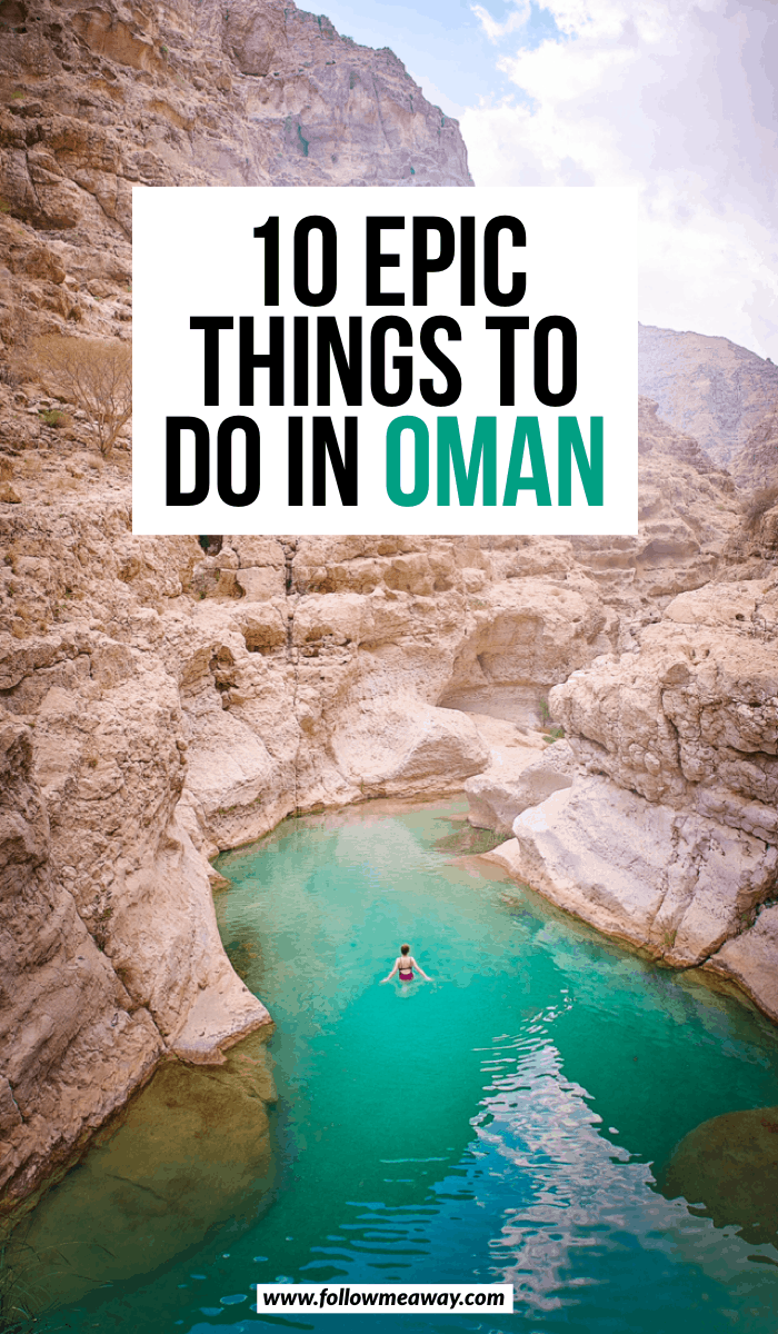 10 Epic things To do In Oman In The Middle East