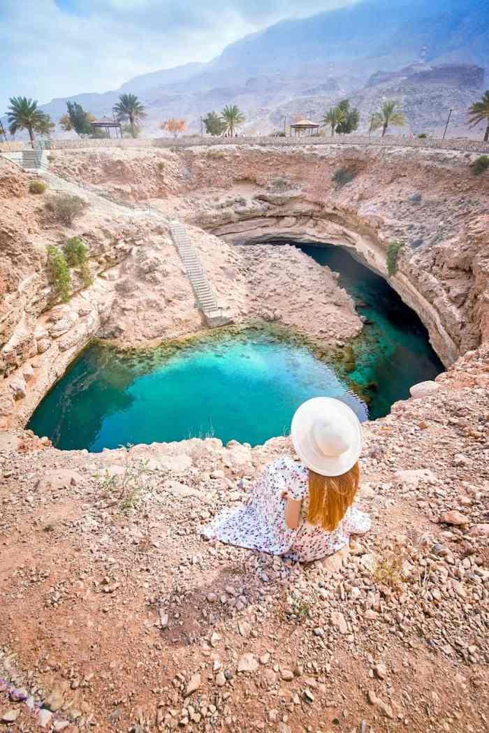 The stunning Bimmah Sinkhole from Oman