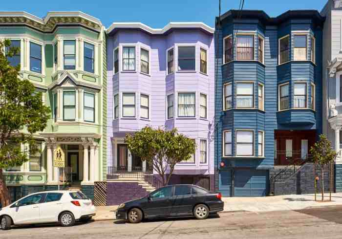 Haight street is a must see in San Francisco