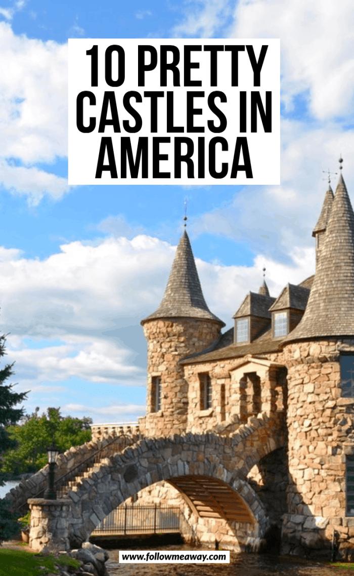 10 pretty castles in america