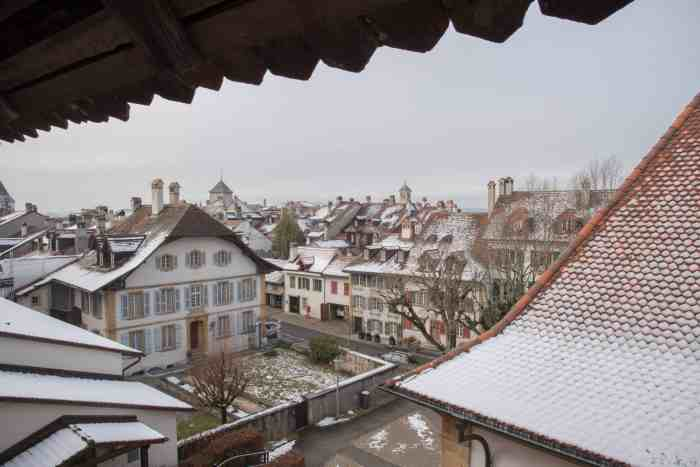 There are three days to explore the Murten Christmas market