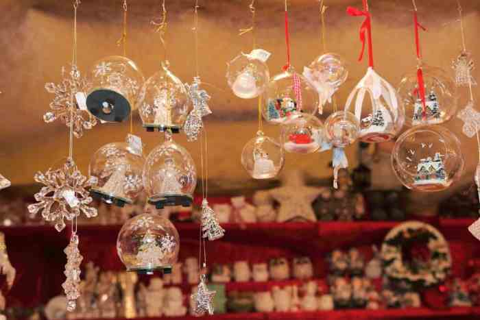 Beautiful Glass Ornaments from the Verona Christmas Market