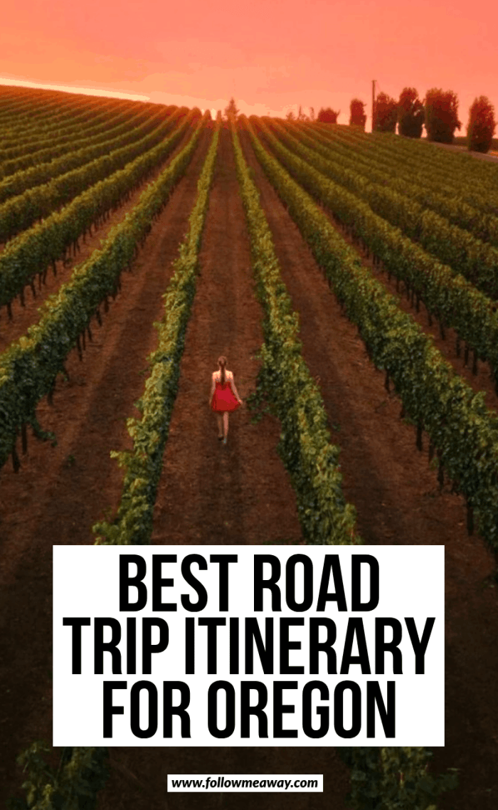 best road trip itinerary for oregon