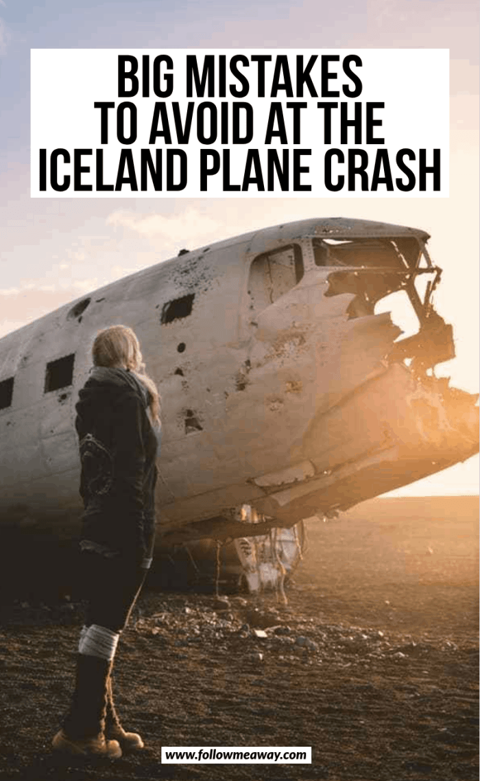 big mistakes to avoid at the icealnd plane crash
