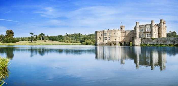 Leeds Castle is know as the loveliest castle in England