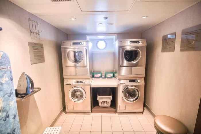 Laundry room on Crystal Mahler