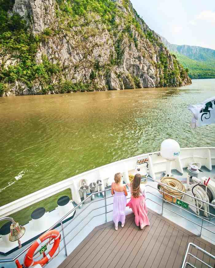 Sailing the iron gates in eastern europe as a family